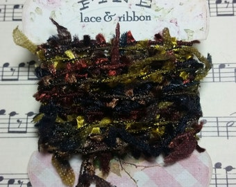 Fibers/Eyelash Trim for use in Journals, Scrapbooks, Mixed Media, Collage