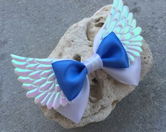 Pegasus inspired hairbow