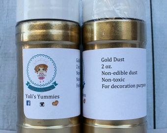 Silver or Gold Highlighter Dust