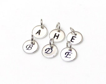 Initials  925 Sterling Silver