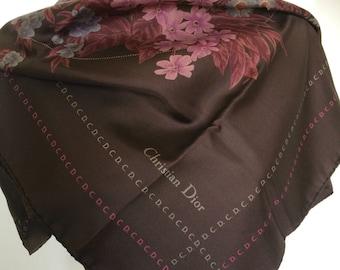 Christian Dior vintage silk scarf,