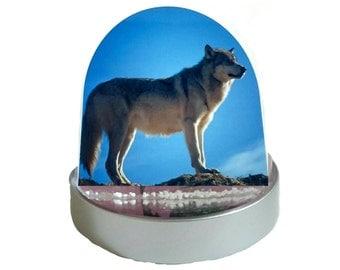 Wolf - Glitter Dome/ Snow Globe, Snowglobe