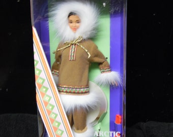 Mattel Dolls of the World Arctic Barbie Doll