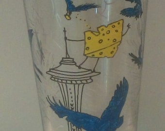 Seahawks pint glasses