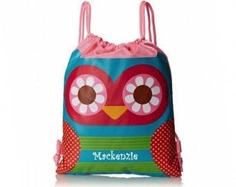 Personalized Hoot Hoot Owl Drawstring Bag