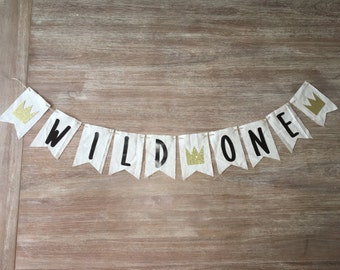 Wild One banner-Wild Things banner-Wild Things First Birthday