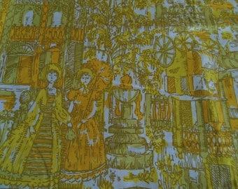 Joseph Goldinger Vintage Fabric, by the half yard