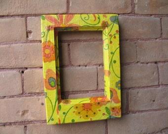 Handmade Decoupaged Picture Frams