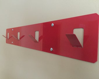 Folded Metal Coat Rack (multiple colors available)