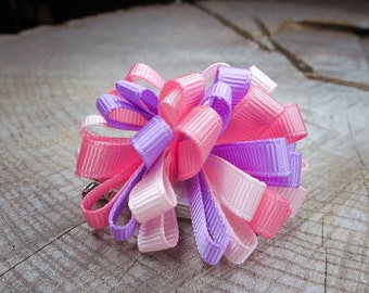 Ribbon Hair Clip ~1 pieces #100737
