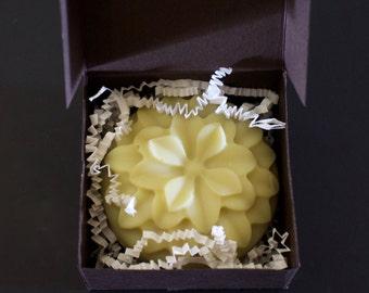 Vegan Soap, Rice Milk Soap, Natural Soap, Clay Soap, Bergamot Lime Rice Milk Soap