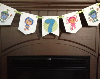 Umizoomi Birthday Party Mini Banner