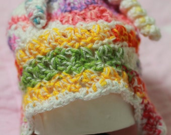 Colorful Culicues Beanie with Earflap