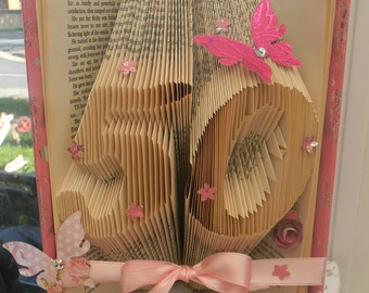 50th Folded Book Art