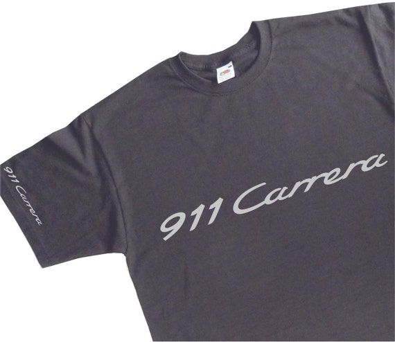 911 carrera emblem t shirt porsche inspired by bavariaclassics. Black Bedroom Furniture Sets. Home Design Ideas