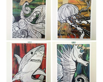 Ocean Series - Digital Print Posters