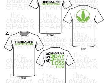 Herbalife T-shirts (9 Different Styles)
