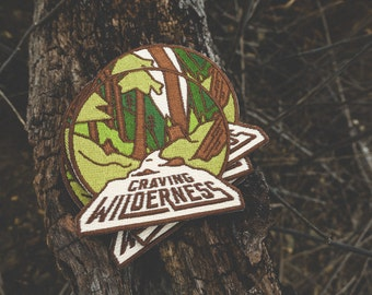 Craving Wilderness Embroidered Patch