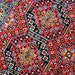 Vintage Gypsy Rug, Velvet Bedspread,  Bohemian Wall Tapestry, Boho Wall Hanging Rug, Persian Rug, Velvet Rug, Vintage Velvet Sofa Cover,