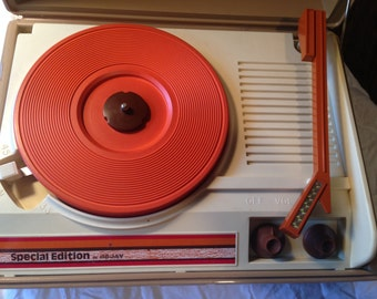 DeJay SPECIAL EDITION Turntable Phonograph Record Player Vintage