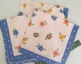 Gorgeous vintage hand made napkins