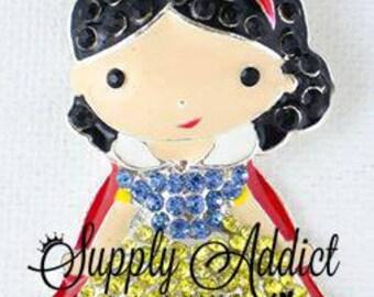 Snow White Princess Pendant