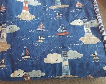 Blue Coastal Quilt