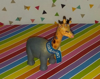 Vintage 1972 Steven MFG Mixed Up Zoo - Giraphant