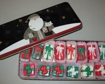 Christmas Vanilla Caramels