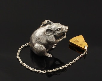 Silver water ionizer Mouse and cheese