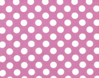 Ta Dot Fabric - Azalea - sold by the 1/2 yard