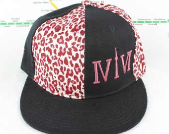 Electric Pink Cheetah Mroooowwr! Original, Pinwheel Purrrfection, Snap backs, CN Tower, The Six, 6ix, Area Code, 416 Hats, Roman Numerals