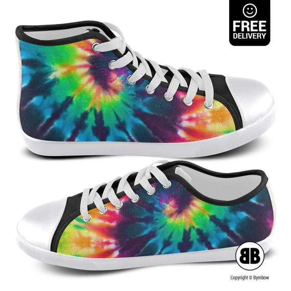 tie dye shoes converse watercolor sneakers by