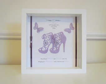 Female Birthday Frame