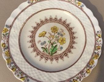 Vintage Spode Copeland Buttercup Bread/Dessert Plate Older Backstamp. ID# 6-13