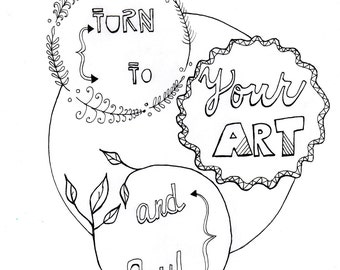 bohemian coloring pages - hipster coloring etsy