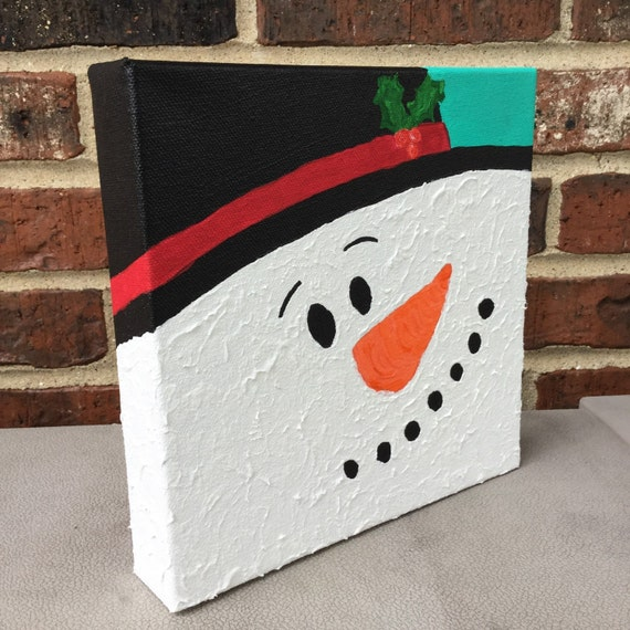 snowman painting snowman decoration christmas painting. Black Bedroom Furniture Sets. Home Design Ideas