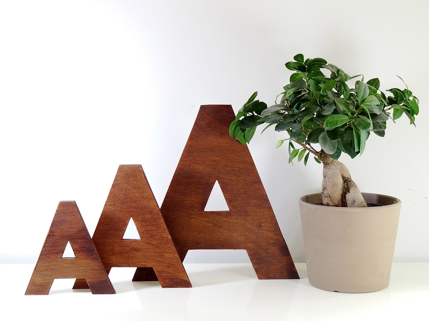 Wooden letters decorative letters for wall decor 6 16 - Decorative wooden letters for walls ...