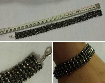 Sparkly bracelet, jewellery, bracelet