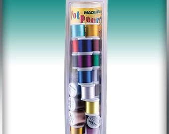 Madeira Potpourri Value Packs 20 Spools of Rayon 225 yd Spools