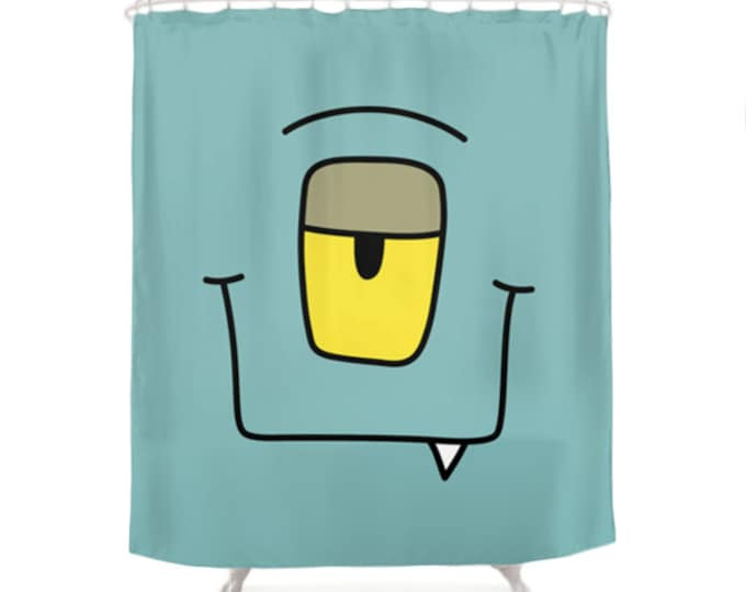 Kaa Shower Curtain - Monsters