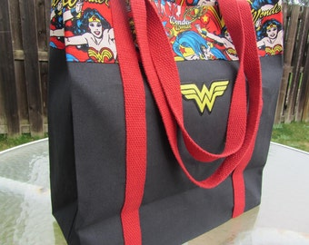 Large Wonder Woman Bag