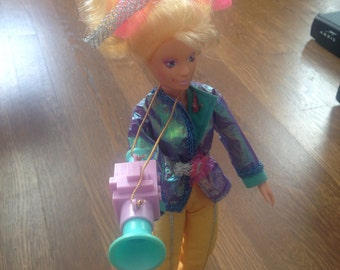 Video doll, from Jem and the Holograms, 1986