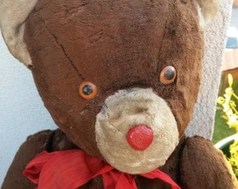 Antique Old Vintage Teddy Bear from 1940s