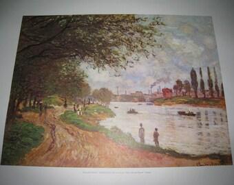 Claude Monet (Argenteuil) Print Paris,Jue de Paume-France