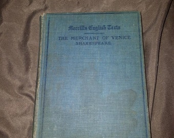 The Merchant of Venice - Shakespeare - Merrills English Text - 1910