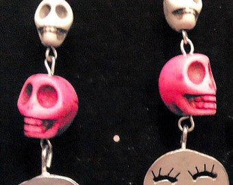 Novelty Skull Earrings