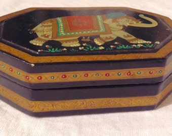 Sale ! An Indian Lacquer Box
