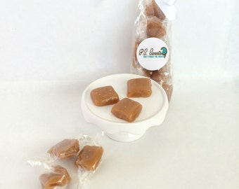 Salted Honey Caramels - All Natural