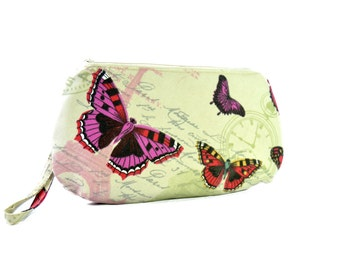 Simple clutch purse // Womens handbag // Clutch bag // Wristlet clutch // Bags and purses //  Hippie bag // Zipper clutch gift ideea for her